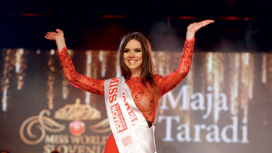 """Maja Taradi: """"Miss Slovenije ni le lepotno tekmovanje"""" (foto: Helena Kermelj)"""