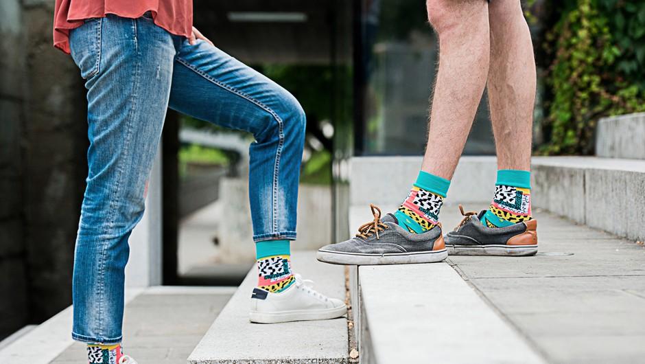 Nosila bi jih tudi Pika Nogavička :) ! (foto: Mankica Kranjec)