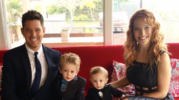 Michael Buble je zavit v žalost. Njegov triletni sin Noah je zbolel za rakom (foto: Profimedia)