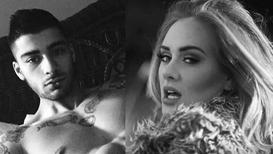 Adele in Zayn Malik: Zvezdnika sta razkrila mračni skrivnosti (foto: Pro)