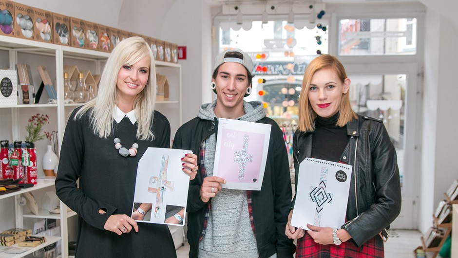 Znani zmagovalci Smile natečaja za I LIKE PAPER uro (foto: Smile concept store)