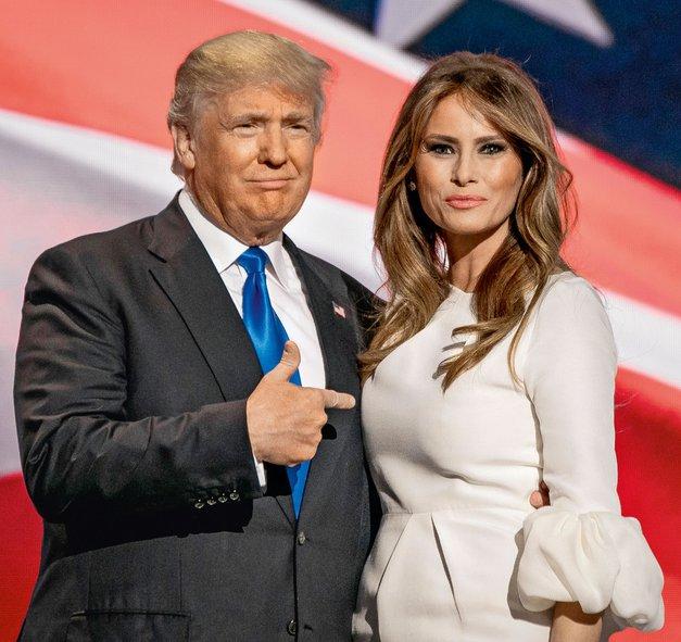 FOTO: Melania Trump na modnem področju naravnost blesti (foto: Profimedia)
