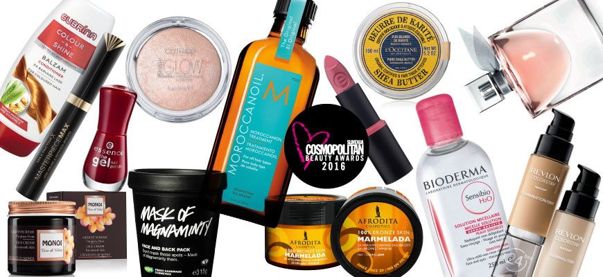Cosmopolitan Beauty Awards 2016: Razkrivamo zmagovalce! (foto: Cosmopolitan)