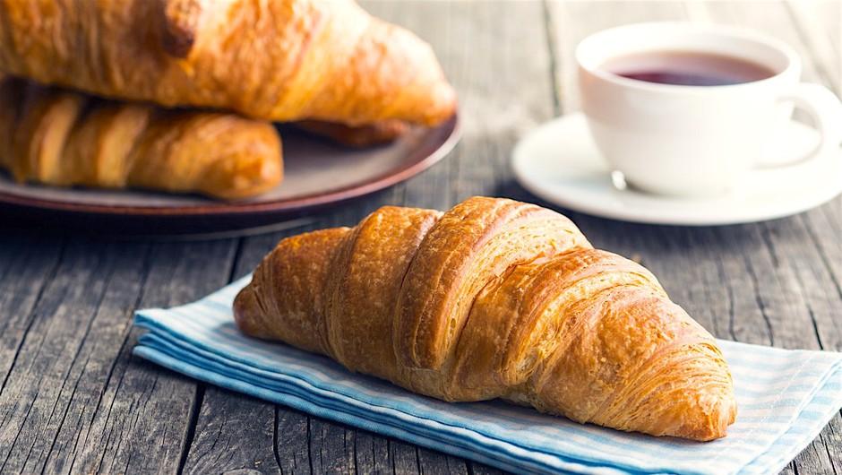Najenostavnejši recept: Rogljiček (croissant) (foto: Profimedia)