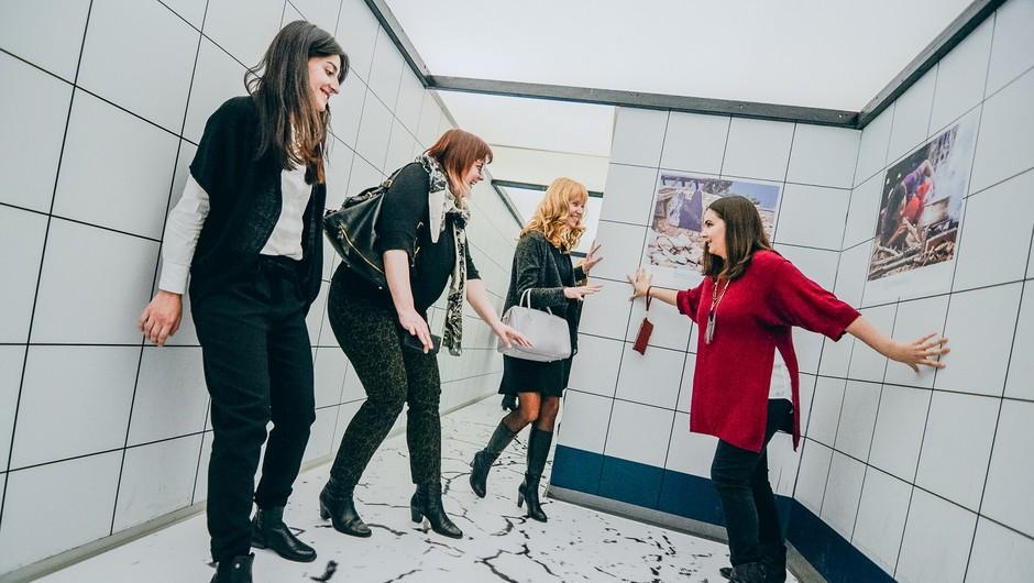 Ljubljanski Muzej iluzij bo postal Muzej realnosti (foto: Petar Santini)