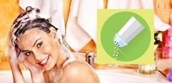 Poglej, kaj se zgodi, če v šampon za lase daš sol!