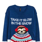 pulover H&M, 19,99 eur (foto: Promocijsko gradivo)