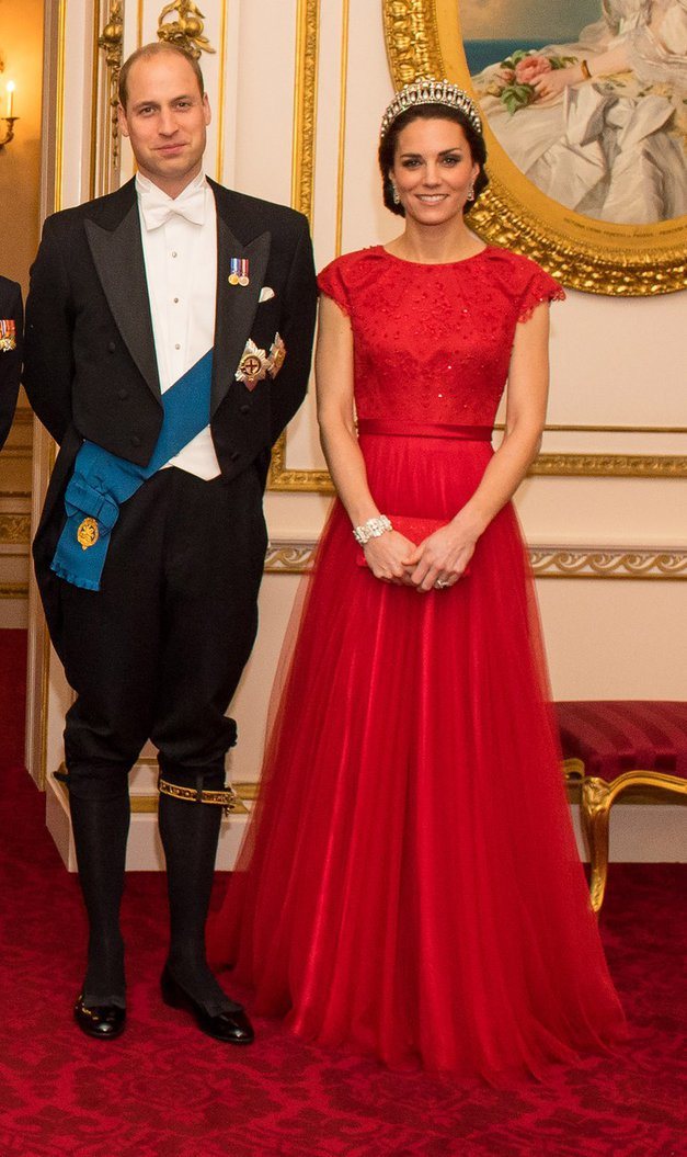 Modni ulov: Vojvodinja Kate s čudovito tiaro princese Diane! (foto: Profimedia)