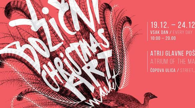 Še vedno nimaš daril? Hitro v Ljubljano na Božični art market (foto: promocijsko gradivo)
