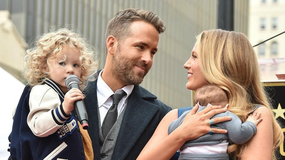 Ne boš verjela, kako lepo je o svoji ženi Blake Lively spregovoril Ryan Reynolds! (foto: Profimedia)