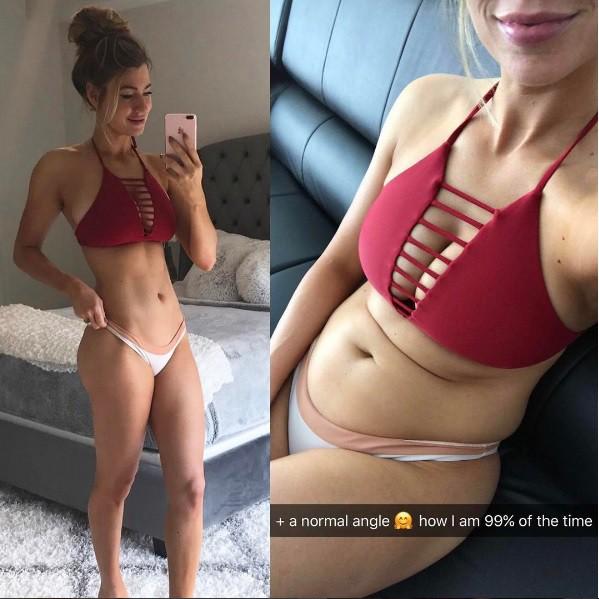 ŠOK! Osebna trenerka razkrila, kako v resnici izgleda njeno telo! (foto: Instagram)