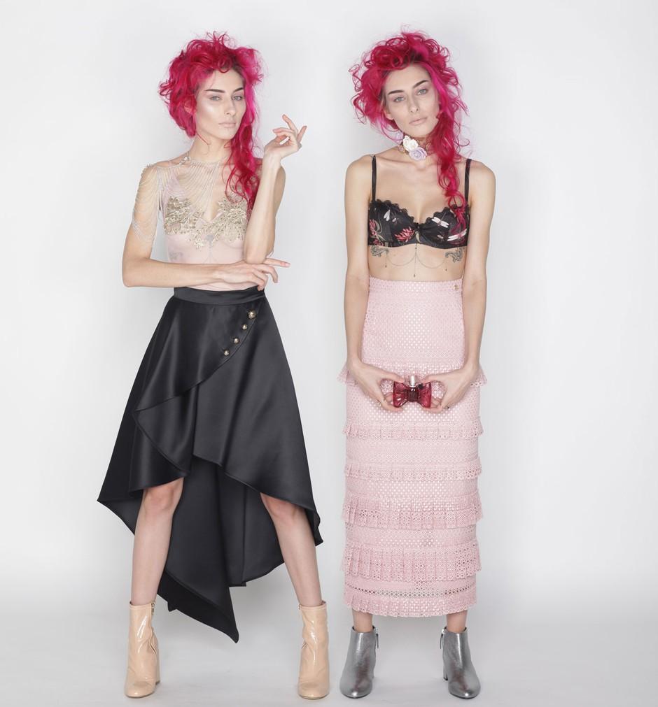 """Raiven: """"Ne maram modnih kombinacij, ki jih lahko nosi vsako dekle"""" (foto: Fulvio Grissoni)"""