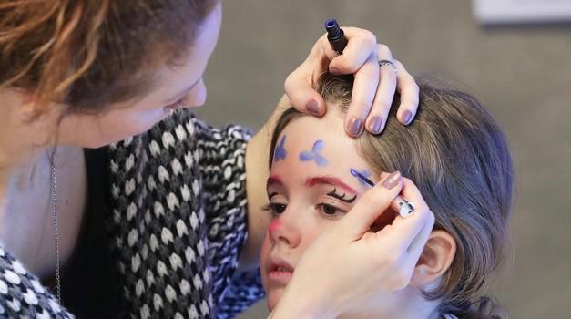 Pust 2017: Dobrodelna blogerska pustna make-up akcija (foto: Promocijsko gradivo)