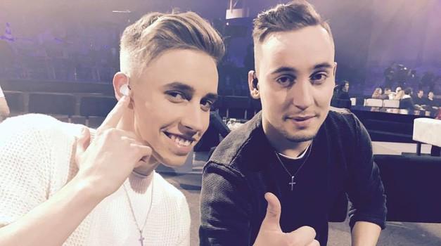 EMA 2017: Simpatičen bratski duo BQL s skladbo Heart of Gold navdušuje 100/h! (foto: Facebook @BQL)