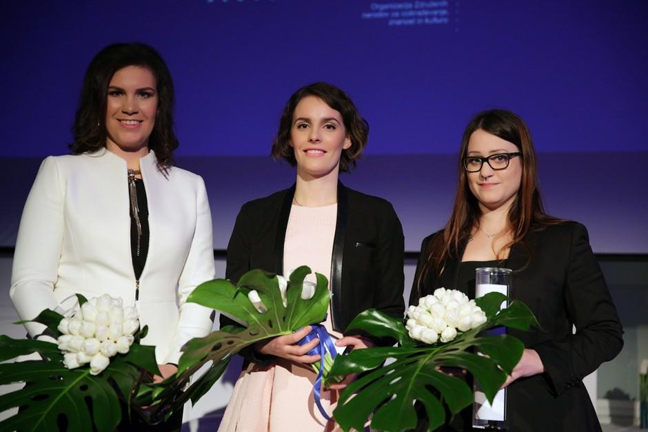 11. štipendistke programa »Za ženske v znanosti« so ... (foto: Iztok Kurnik)