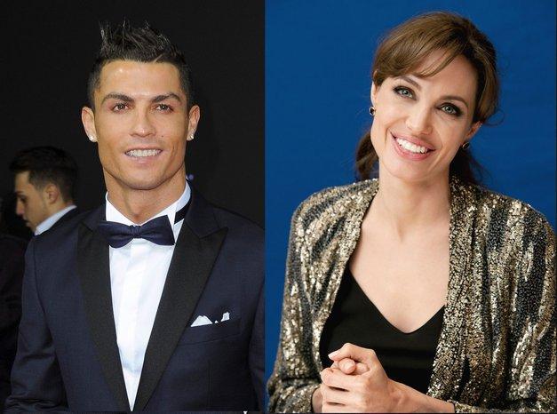 Angelina Jolie in Cristiano Ronaldo bosta skupaj zaigrala v televizijski seriji! (foto: Profimedia)