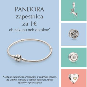Kako do zapestnice Pandora že za 1 euro? (foto: Promo)