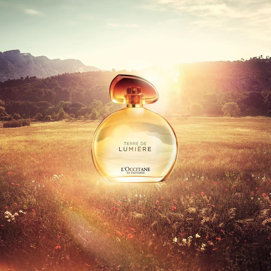 Začaral nas je vonj Terre de Lumiere! L'Occitane, je to res tvoj parfum? (foto: promocijsko gradivo)