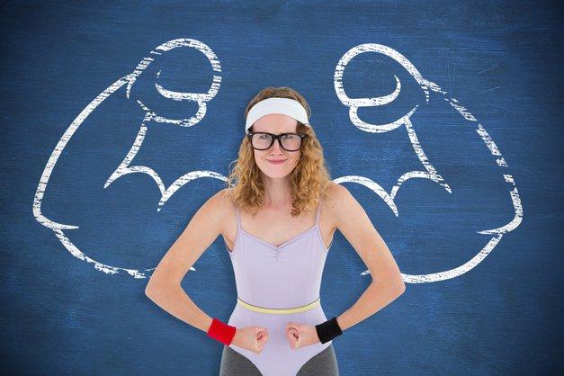 """""""Ne treniram z utežmi, ker ne želim biti mišičasta"""" (+ druga zmotna prepričanja o fitnesu) (foto: Profimedia)"""
