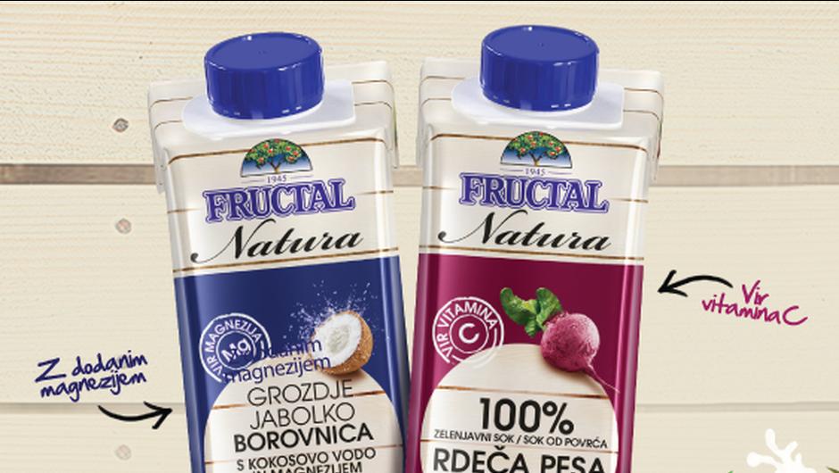 Dva nova izdelka iz Fructala namenjena športnikom (foto: Promo)