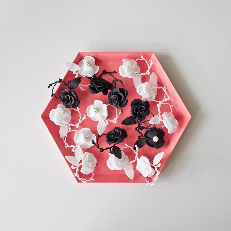 Modni izbor meseca: butični 3D-nakit (narejeno v Sloveniji!) (foto: OSEBNI ARHIV, kolekcija Flamboyant: Marijo Županov)