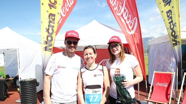 Coca-Cola 35 tekačem omogoča startnino za Nočno 10ko (foto: Aleš Fevžer)