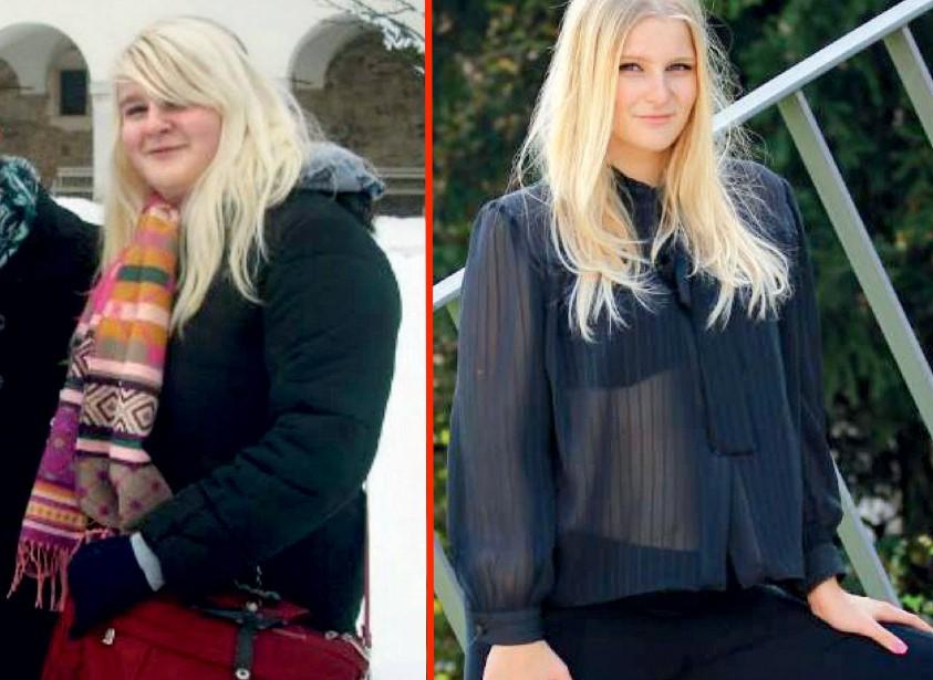 Helena iz Domžal v 18 tednih shujšala za 18 kg! Tako ji je uspelo ... (foto: Helena Kermelj, Sabina Tomažič, osebni arhiv)