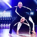 """Denis po koncu šova Zvezde plešejo z ganljivim zapisom: """"Martina me je naučila več kot samo plesati"""" (foto: Miro Majcen/POP TV)"""