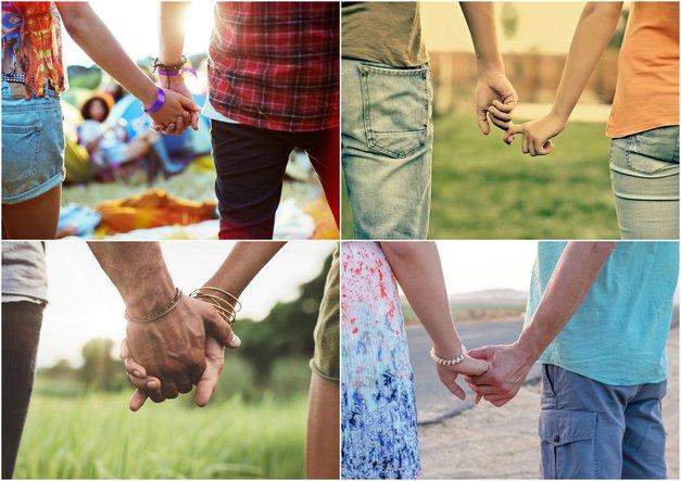 Kaj način, kako se držita za roke, pove o vajinem razmerju (foto: Profimedia)