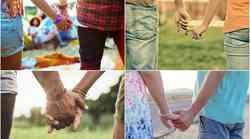Kaj način, kako se držita za roke, pove o vajinem razmerju