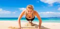 TRI vadbe, ki jih lahko izvajaš na balkonu ali terasi in se izklesaš do poletja (+oprema, ki jo potrebueš)
