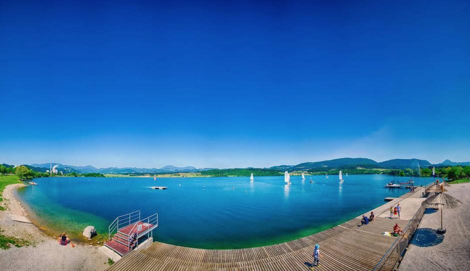 Ti je vroče? Obišči eno izmed 12 najlepših naravnih kopališč pri nas (ali pa kar vse) (foto: Aleksander Kavčnik, instagram.com/mestnaobcinavelenje)