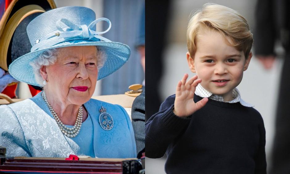 Zabavno: Poglej, kako princ George kliče svojo prababico kraljico Elizabeto! (foto: Profimedia)