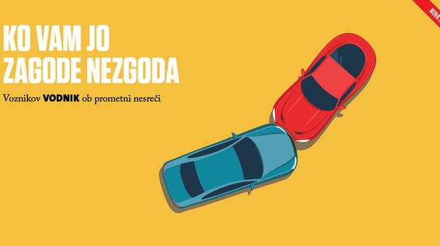 Voznikov vodnik ob prometni nesreči – Zagotovite si brezplačen izvod (foto: Zavarovalnica Triglav)