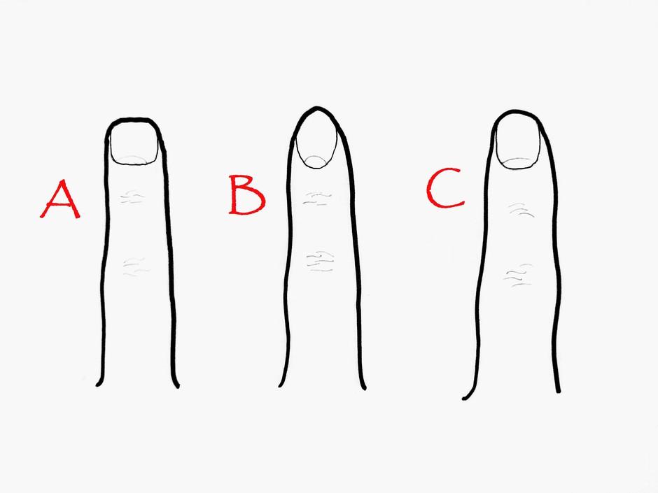Ne boš verjela, kaj oblika tvojega prsta pove o tebi! (foto: Uredništvo Cosmopolitan/N.Š.)