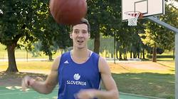 VIDEO: Zabavni zapleti s snemanja preden so šli na Eurobasket 2017 (smeh do solz)