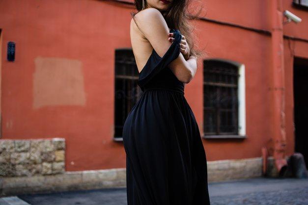 Rada modno oblikuješ? Prijavi se na natečajMala črna obleka (foto: Unsplash/Kira Ikonnikova)