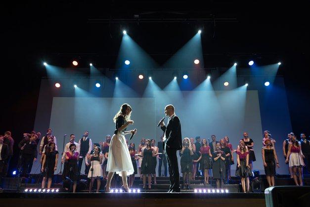 Glasbena poslastica v Tivoliju: Perpetuum Jazzile- Le Spectacle (foto: promocijsko gradivo organizatorja)