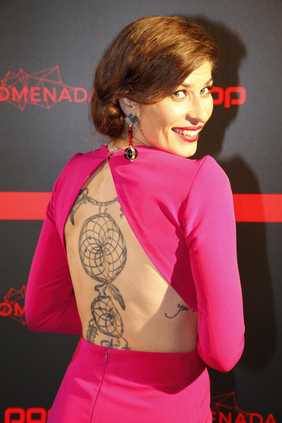 Voditeljica Natalija Bratkovič je nora na tetovaže, ima jih kar 9! (foto: Aleksandra Saša Prelesnik)