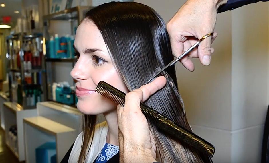 VIDEO: Od dolgolaske do čudovite kratkolaske (čustvena lepotna preobrazba) (foto: screen shot)