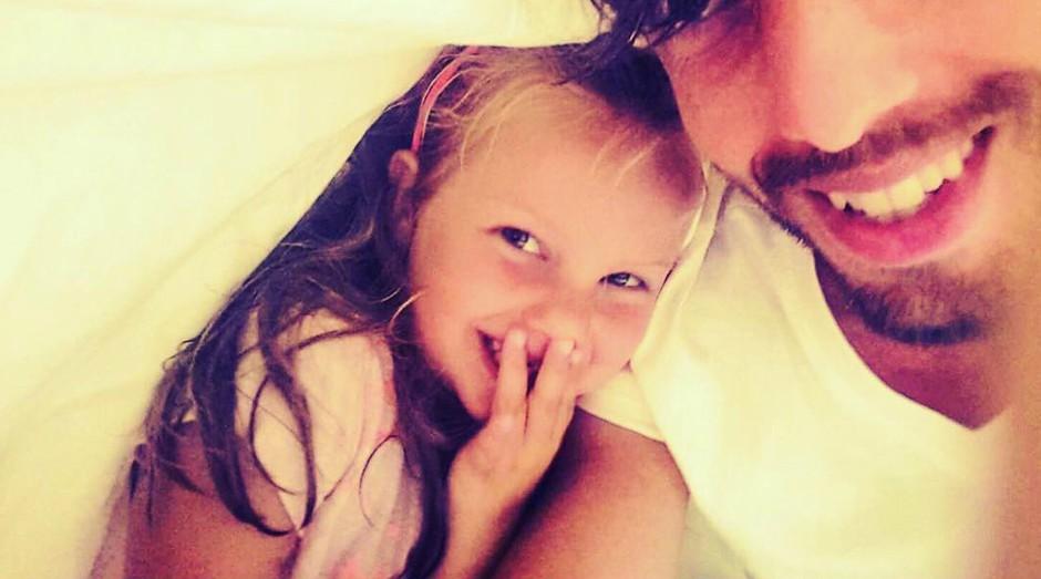 Tako ljubka je hčerkica Ive Kranjc in Aljoše Bagole! (foto: Instagram.com/@aljosabagola)