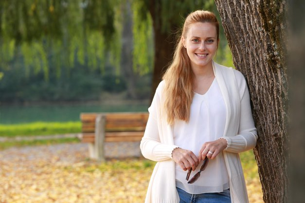 Nikoli ne uganeš, kaj danes POČNE Živa Vadnov (Miss Slovenije 2004)! (foto: Helena Kermelj)