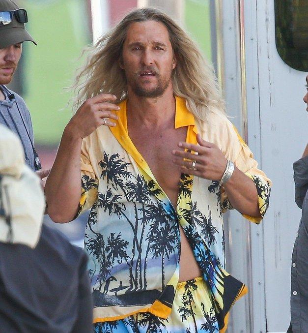 Matthew McConaughey, si to res ti?! (foto: Profimedia)