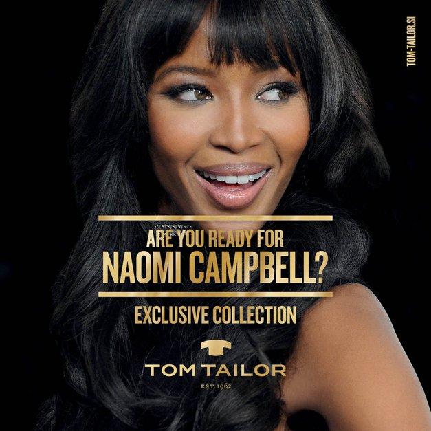 Naomi Campbell oblikovala drzno božično-novoletno kolekcijo (foto: Tom Tailor)