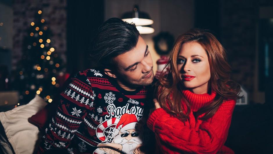 Kakšen božič si želita Raay in Marjetka? (foto: Maraaya)