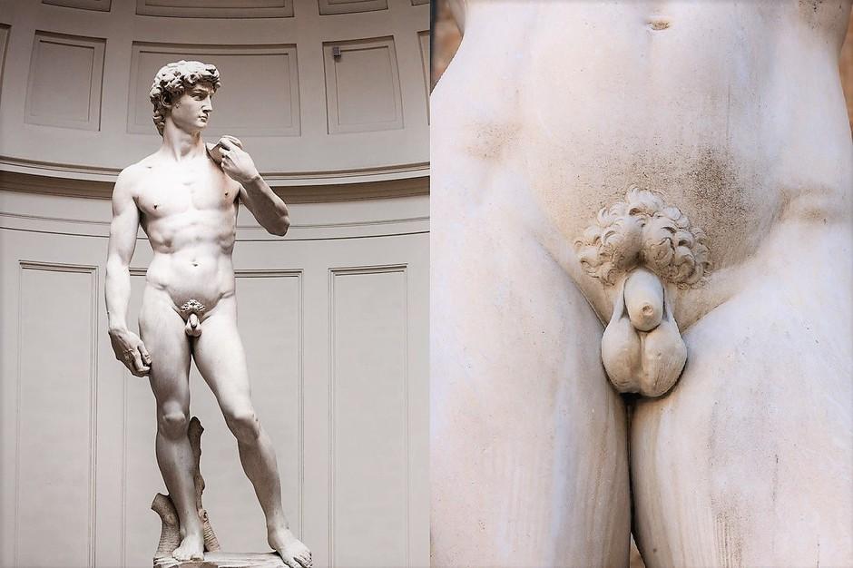 TO je pravi razlog, zakaj imajo zgodovinski kipi MAJHNE penise! (foto: Profimedia)