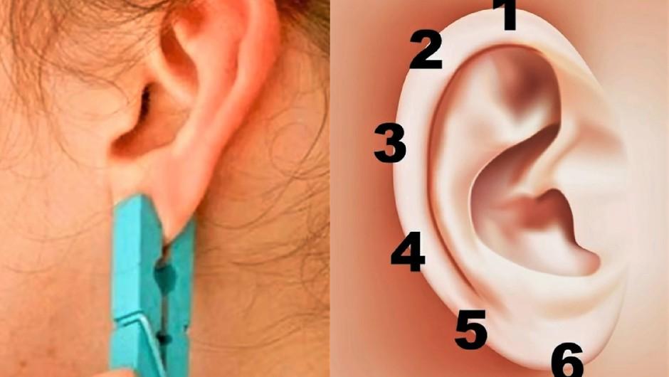 VIDEO: Poglej, kaj se zgodi, če daš na uho ščipalko! (foto: Prt Scr/Youtube)