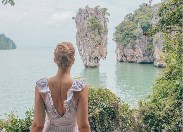 FOTO: Ajda Sitar valentinovo z dragim preživela na Tajskem! (foto: Instagram Ajda Sitar)