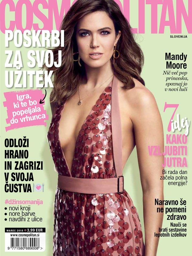NOVI COSMO! Poglej, kaj najdeš v čudoviti marčevski številki (foto: Cosmopolitan Slovenija)