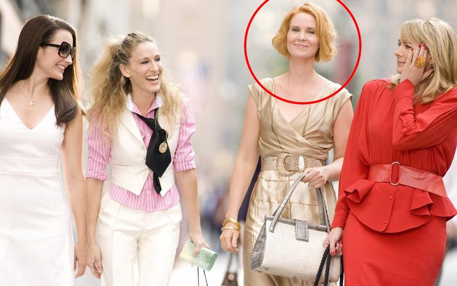 Namesto novega filma Sex v mestu, bo igralka Cynthia Nixon zdaj počela TO! (foto: Profimedia)